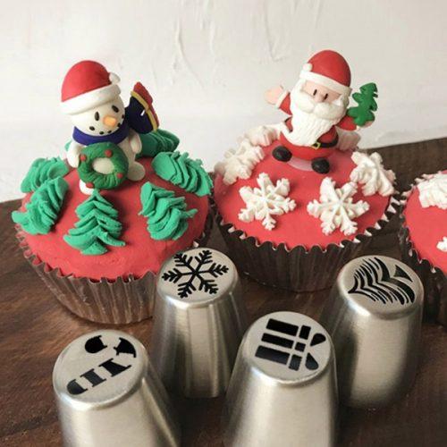 Russische Spritztüllen Weihnachten