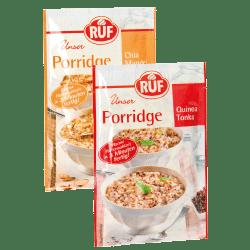RUF Porridge Chia Mandel Quinoa Tonka
