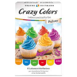 Brauns Heitmann Crazy Colors Lebensmittelfarbe