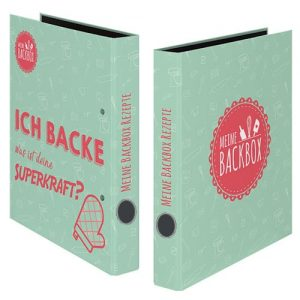 Rezeptordner Superkraft Backen Meine Backbox