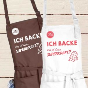 Schürze Superkraft Backen Meine Backbox