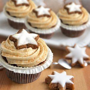 Santa's Delight Cupcakes