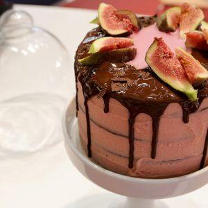 Schoko Feigen Drip Cake Zenker Ambiente