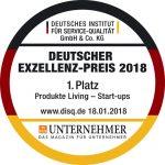 Deutscher Exzellenz Preis 2018 für Meine Backbox