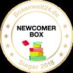 Newcomer Box Award 2018 für Meine Backbox