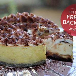 Tiramisu Cheesecake meiliese Blogparade