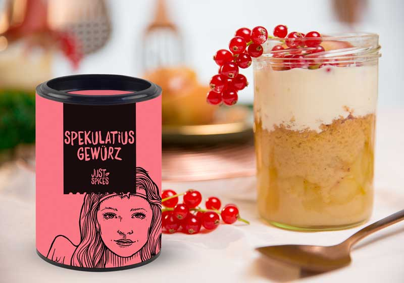 Back Adventskalender Spoiler Just Spices Spekulatius Crumble