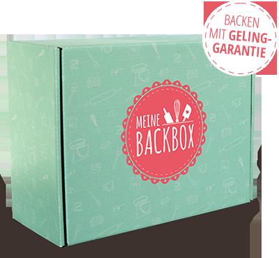 Meine Backbox Abo Box Backen mit Geling-Garantie
