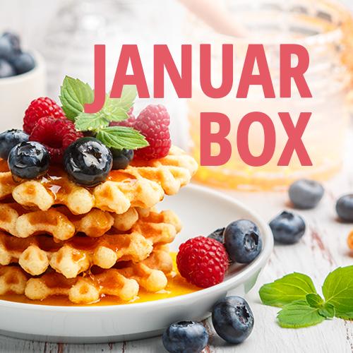 Januar Box Frühstück Backen Button