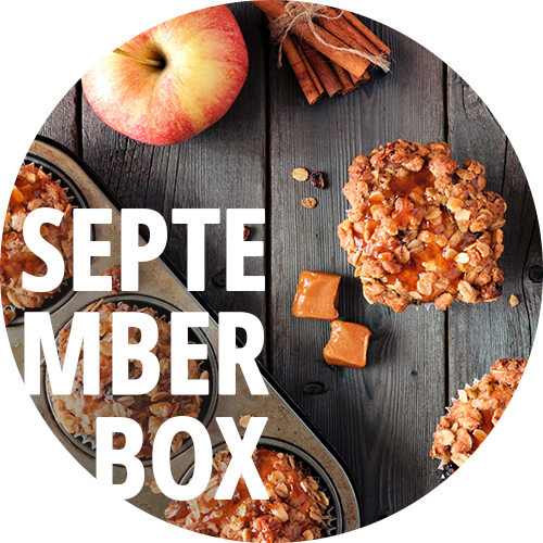 Meine Backbox September Box Süß & Salzig