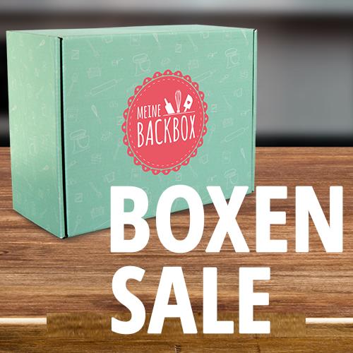 Sale Button Vergangene Boxen