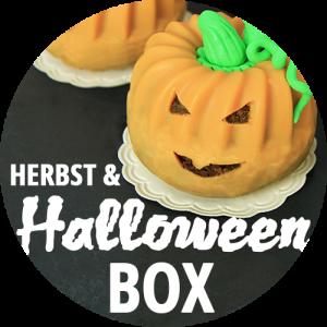 Button Herbst und Halloween Box