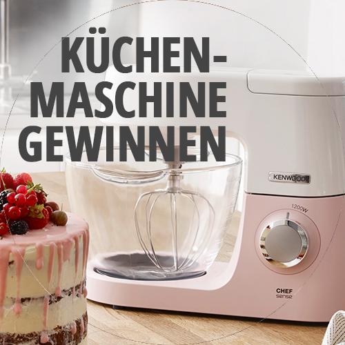 Goldener Adventskalender von Meine Backbox – Kenwood Chef Sense Colour Küchenmaschine gewinnen