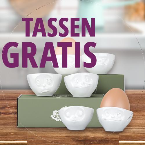 Tassen Eierbecher Gratis Jahresabo Meine Backbox