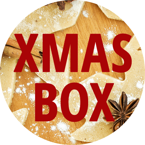 Weihnachtsbox Button