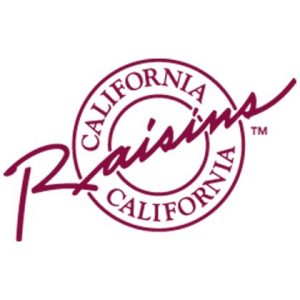 Logo California Raisins