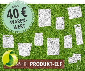 Newsletter Produkt-Elf & Sneak Preview